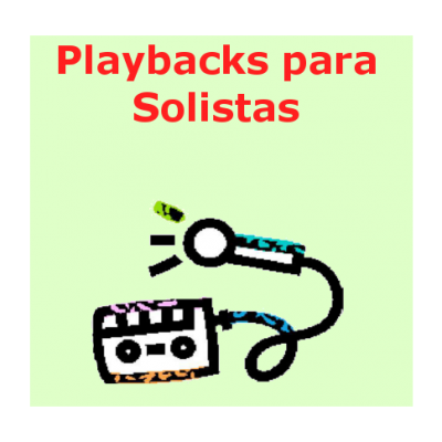 Playbacks para Solistas