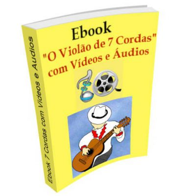 Ebook o violao 7 cordas com videos e audios