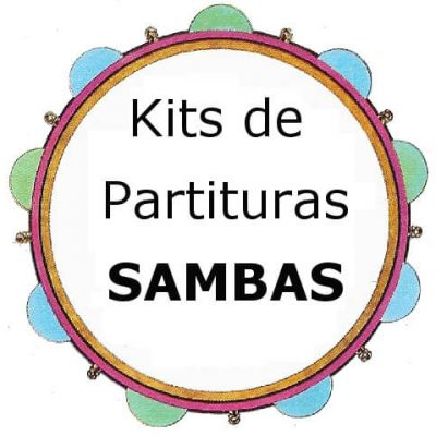 Kits de partituras Sambas