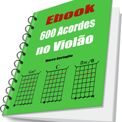 Ebook 600 Acordes no Violão